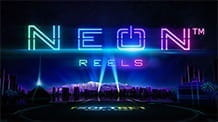 Promotional image of Neon Reels slot from iSoftBet