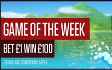 NetBet Game of the Week - match half your money