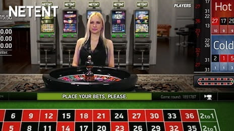 NetEnt Provide High Quality Streaming of Live Roulette