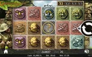NetEnt's mobile slot Gonzo's Quest at LeoVegas.