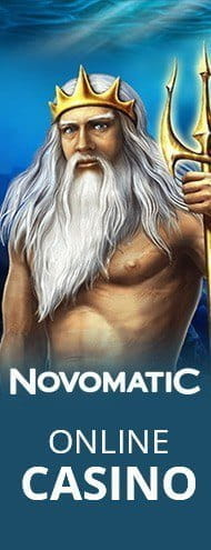 Promotional image for Novomatic game software