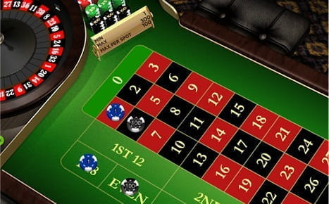 The Table Limits in Online Roulette have no Restrictions Relating to Bet Type