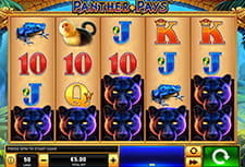 Panther Pays slot at Eurogrand.