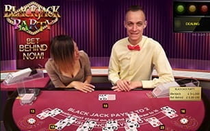 Party Blackjack at LeoVegas