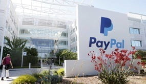 PayPal's HQ in San Jose, California