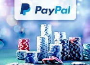 Image of PayPal logo and casino chips