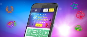 The PlayOJO mobile casino on a smartphone