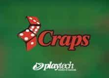 Motif du jeu de craps Playtech.