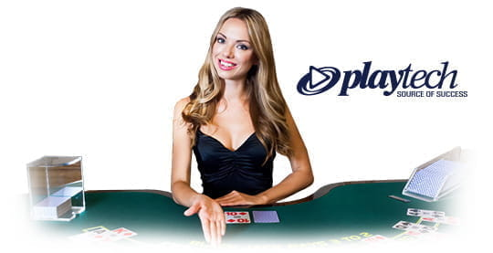 A live casino dealer from Playtech.