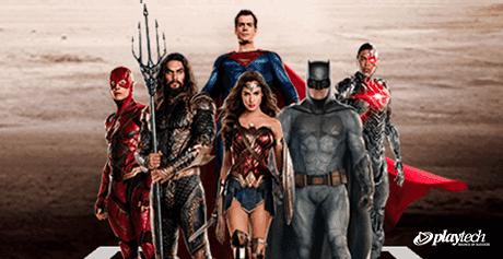 DC Comics superheros who inspired many Playtech movie franchise slots