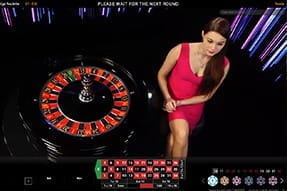 A game of Prestige Roulette from Playtech.