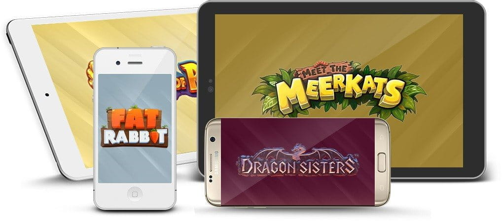 Image showing Push Gaming's games on mobile devices