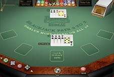 Quickfire's Blackjack Redeal at LeoVegas