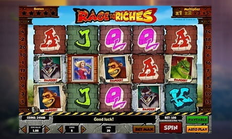 Image showing the Play 'n GO Rage to Riches slot