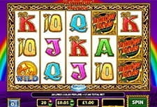Play Rainbow Riches slot at Pots of Luck Casino