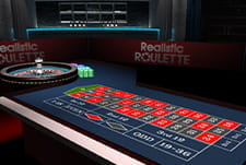 Play Realistic Roulette table game at Simba Games casino