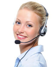 A customer support agent at an online casino.