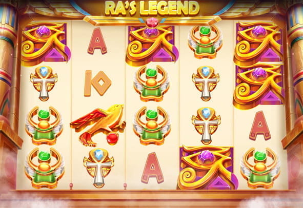 The Ra's Legend slot from Red Tiger Gaming.