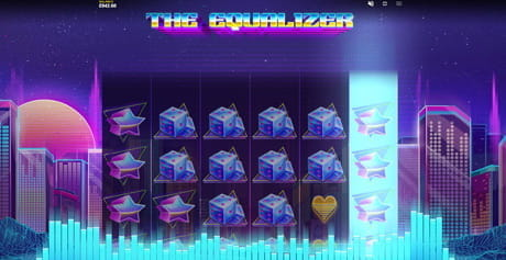 The expanding rows and reels in The Equalizer by Red Tiger Gaming.