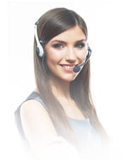 A customer services employee at a ReelPlay online casino.