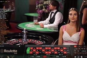 Preview of Live Roulette at InterCasino