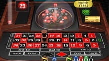 In Rockin Roulette the Numbers are Balls which are Shuffled Under a Glass Dome