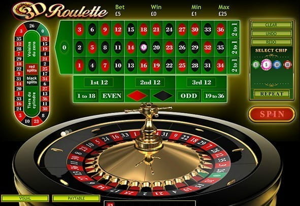 3D Roulette by Playtech - Play Free Demo Game!