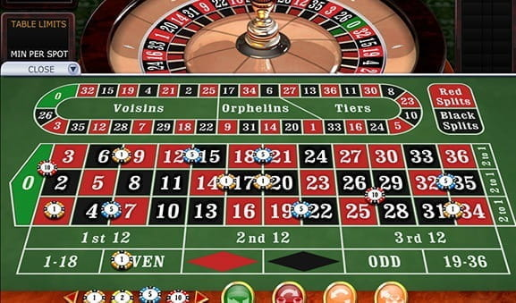 An in-game image of 3D Roulette Premium from Playtech.