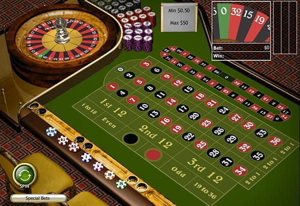 Free demo of the Club Roulette game from Playtech.