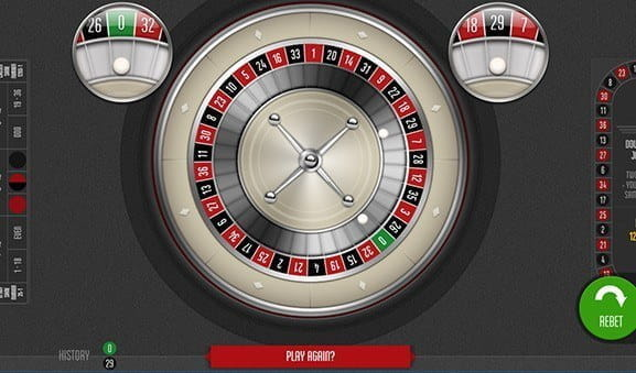 An in-game image of Double Ball Roulette from Felt.