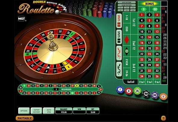 Enjoy IGT's Double Bonus Spin Roulette for free.