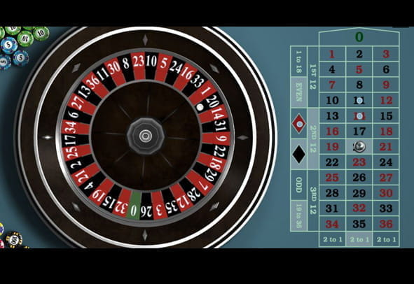 European Roulette Gold free demo version.