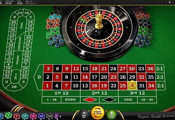 European Roulette Red Tiger Review: Play Free + Real Money!
