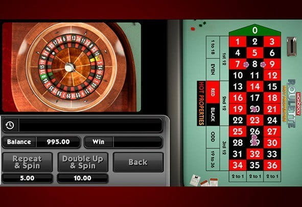 Cover image of the embedded Monopoly Roulette Hot Properties game