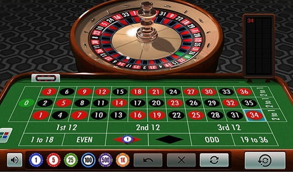 An in-game image of IGT Roulette.