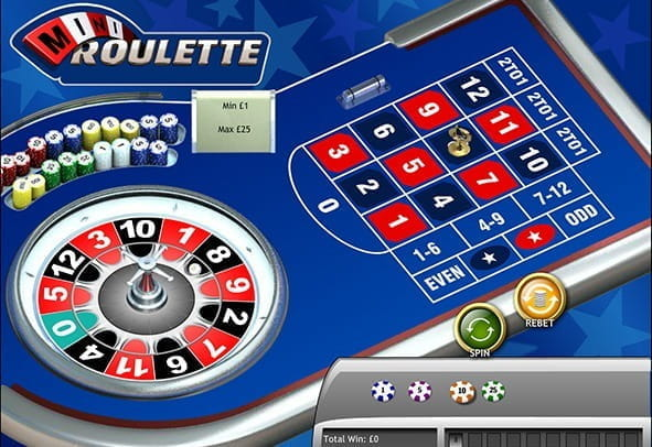 Enjoy Mini Roulette in Play Money Mode for Free!