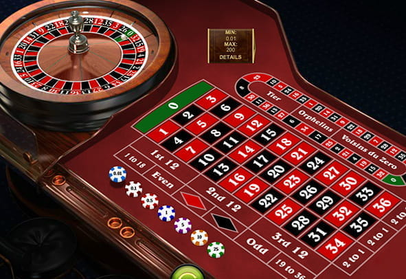 Several wagers placed on the Penny Roulette table game online.