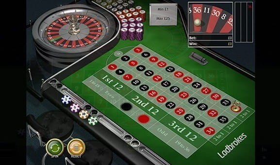 Play Classic Roulette by Playtech at Mansion Casino