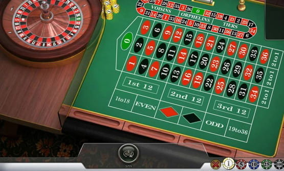 English Roulette online roulette game by Play'n GO
