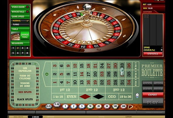 Enjoy Microgaming's Premier Roulette game for free.