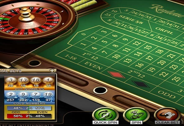 Enjoy the Roulette Advanced demo game for free from NetEnt.