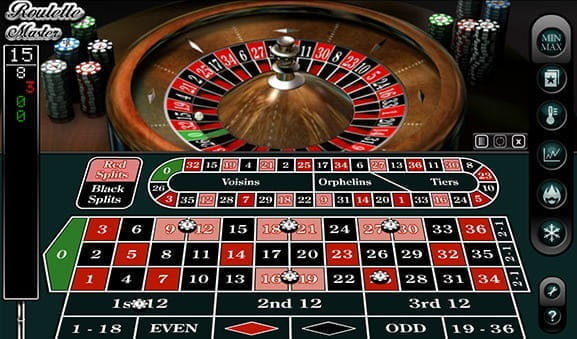 A screenshot of the game Roulette Master by NextGen.