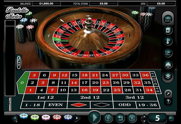 Enjoy the Roulette Master demo game for free.