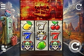 An image of the route 777 slot game on mobile