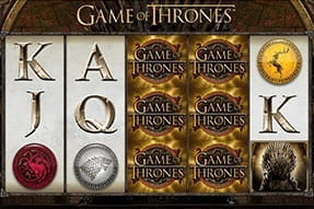 Mobile version of the Game of Thrones slot.