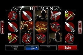 Mobile version of the Hitman slot.
