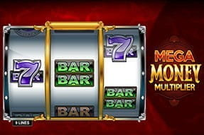 Mobile version of the Mega Money Multiplier slot.