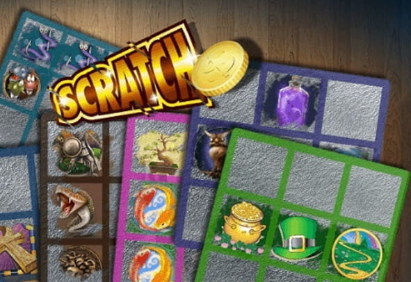 A preview image of a scratch card online game.