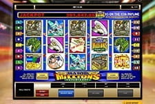 An example in game from the jackpot slot Major Millions. width=225