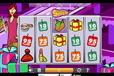 Thumbnail for the Shopping Spree slot game at Clover Casino